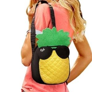NWT PINK Victoria's Secret Pinapple Cooler